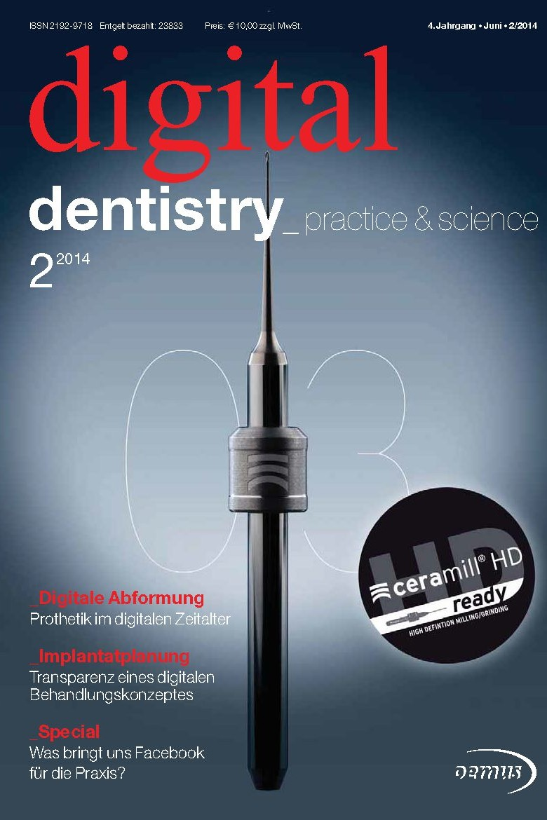 Deckblatt digital dentistry 02_2014 Cover