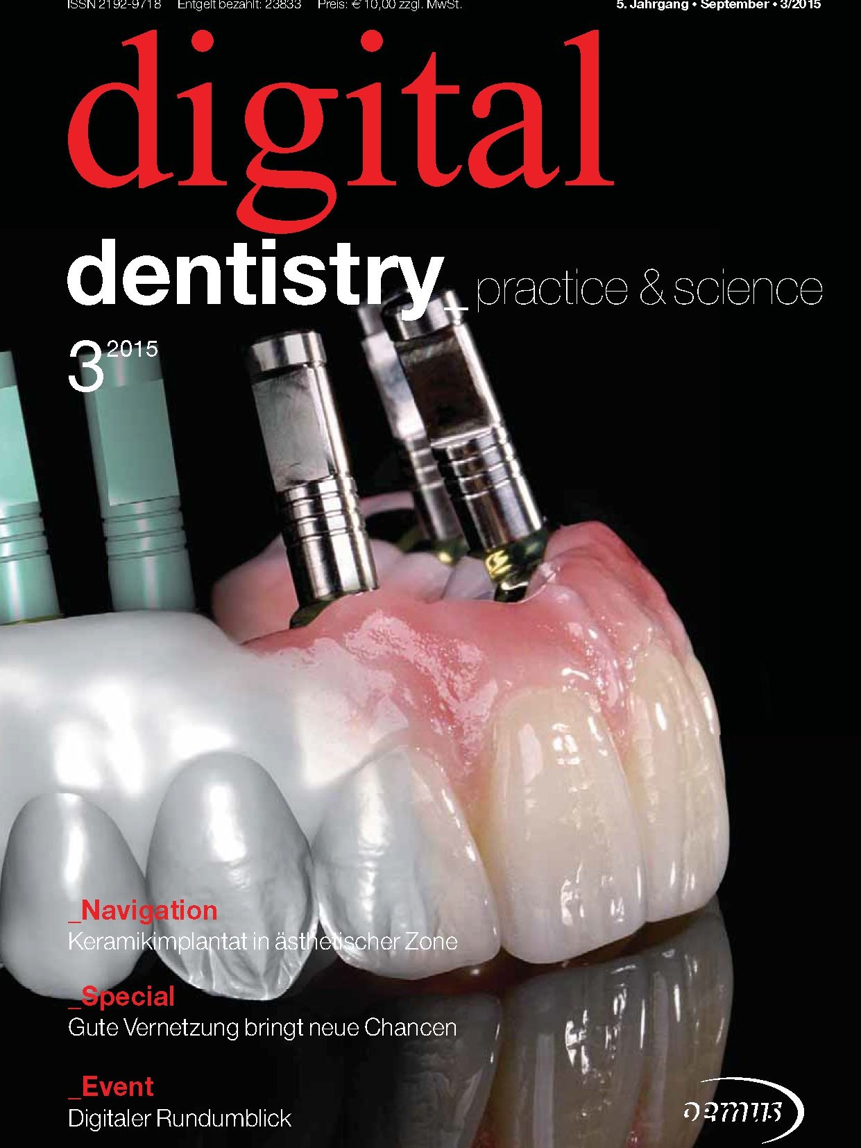 Deckblatt digital dentistry 03_2015 Deckblatt