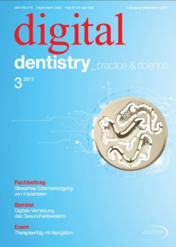 Deckblatt digital dentistry 03_2017